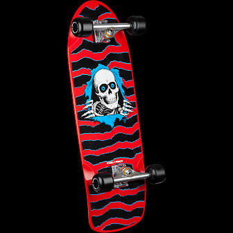 Powell Peralta Ripper OG Custom Complete Skateboard Red - 10 x 31
