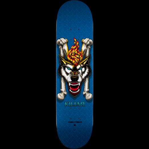 Powell Peralta Kilian Martin Wolf 3 Skateboard Deck Blue - Shape 127 - 8 x 32.125