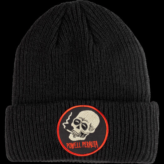 Powell Peralta Smoking Skull Beanie