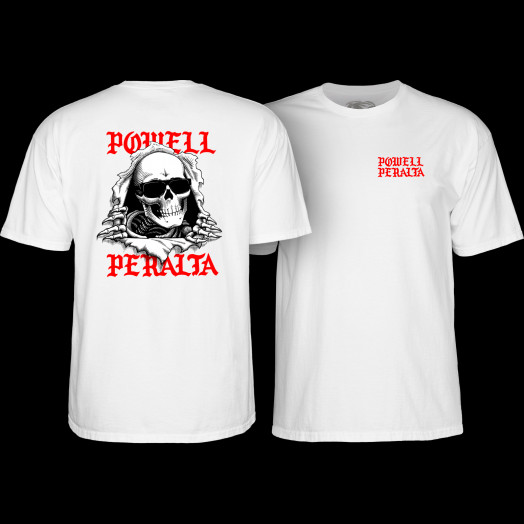 Powell Peralta Ripper Chainz T-Shirt White