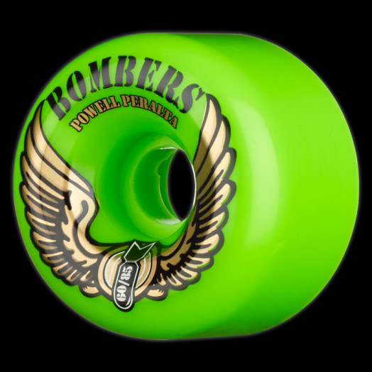 Powell Peralta Bombers 60mm 85a - Green (4 pack)