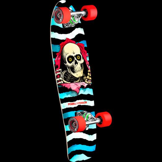 Powell Peralta Ripper WC Cruiser 275 Skateboard Assembly - 8.62 x 27.88