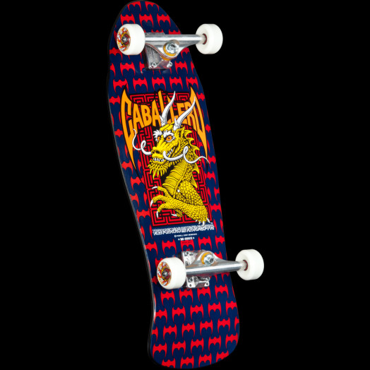 Powell Peralta Caballero Dragon and Bats Custom Complete Skateboard - 9.625 x 29.75