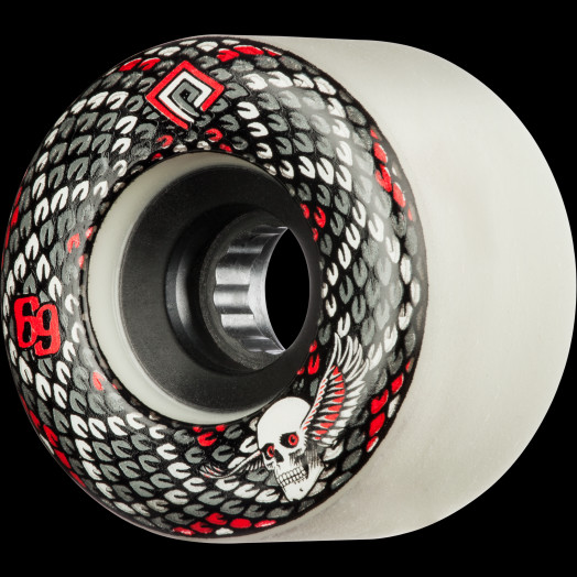 Powell Peralta Snakes 69mm 75a 4pk White
