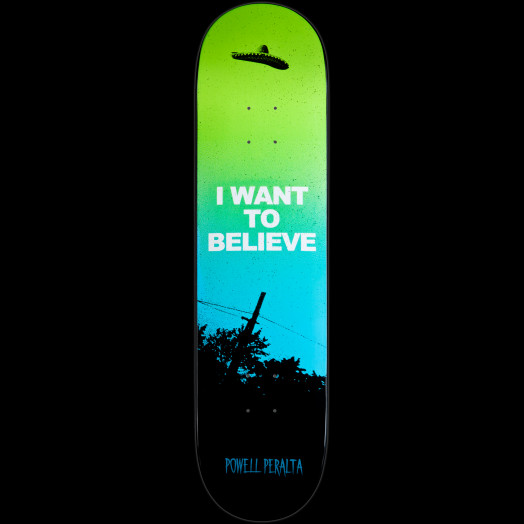 Powell Peralta LIGAMENT Believe Skateboard Deck - 8.25 x 32.5