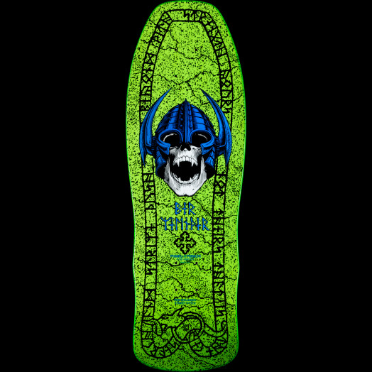 Powell Peralta Per Welinder Nordic Skull Skateboard Deck - 9.715 x 29.625