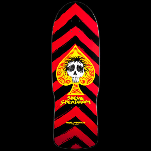 Powell Peralta Steadham Spade Skateboard Deck Red - 10 x 30.125