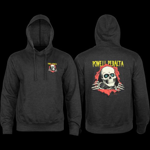 Powell Peralta Ripper Hooded Sweatshirt Charcoal