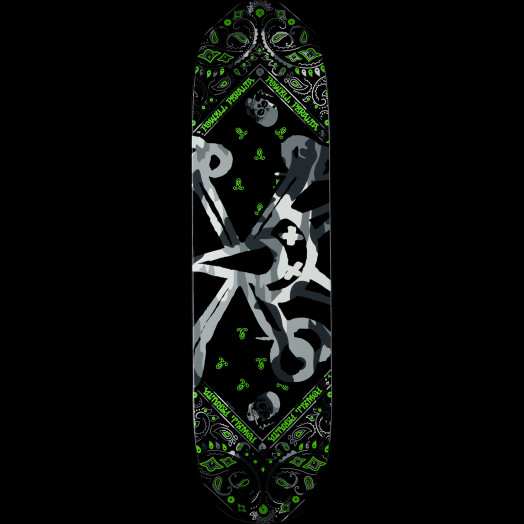 Powell Peralta Vato Rat Band Grey Skateboard Deck - 8.5 x 31.8