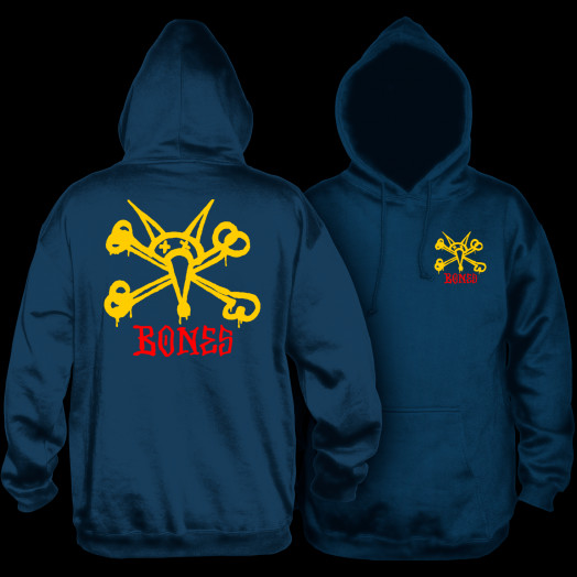 Powell Peralta Vato Rat Hooded Sweatshirt Navy