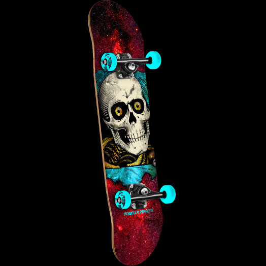 Powell Peralta Ripper Cosmic Complete Skateboard Red - 8 x 32.125