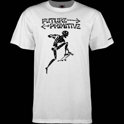 Powell Peralta Future Primitive T-shirt - White