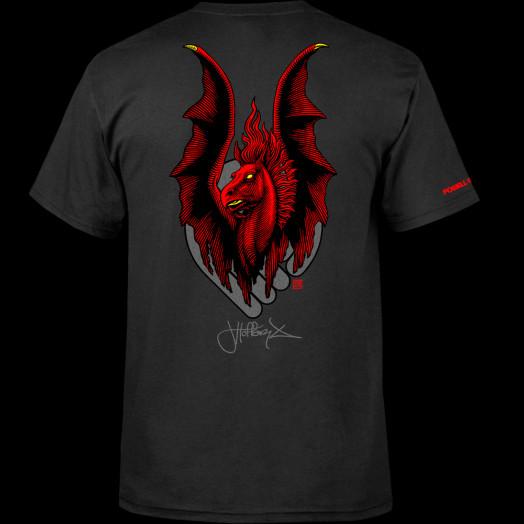 Powell Peralta Jordan Hoffart Pegasus 2 T-shirt - Black