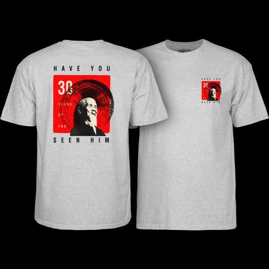 Powell Peralta Animal Chin 30 yrs. Grey T-shirt