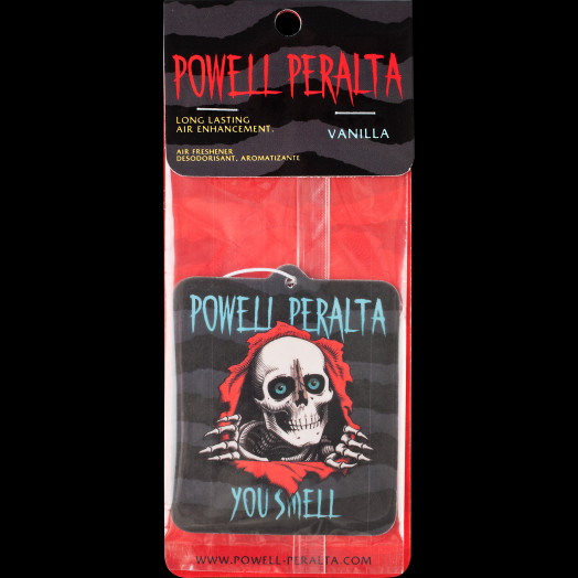 "Powell Peralta ""Ripper"" Air Freshener - Vanilla scented"