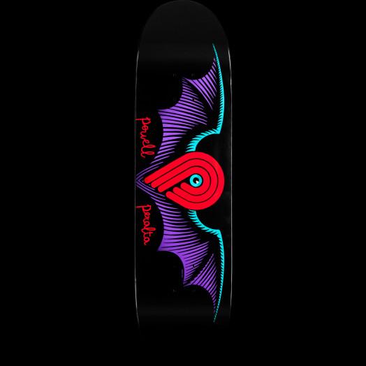 Powell Peralta Winged P Black Skateboard Deck - 8.5 x 31.8
