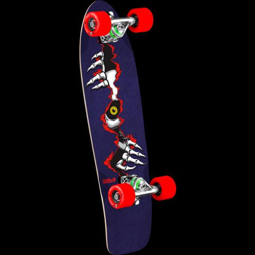 Powell Peralta Ripper Eye Cruiser 274 Skateboard Assembly - 8.24 x 25.38