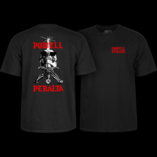 Powell Peralta Skull and Sword Chainz T-shirt Black