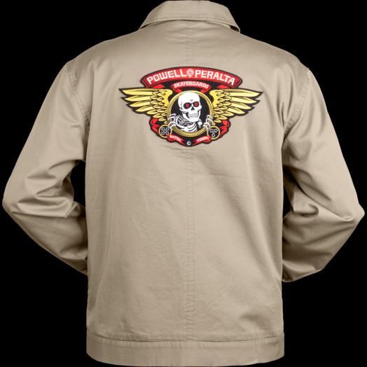 Powell Peralta Winged Ripper Jacket Tan