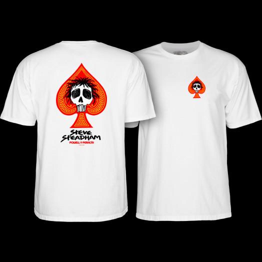 Powell Peralta Steadham T-shirt White
