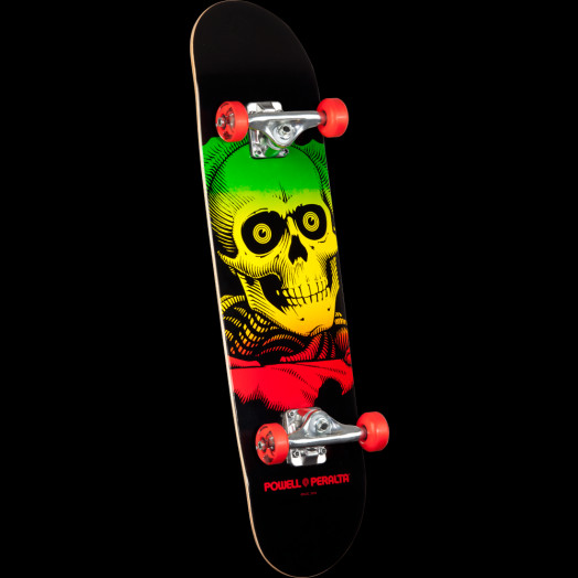 Powell Peralta Ripper Complete Skateboard Red - 7.75 x 31.75
