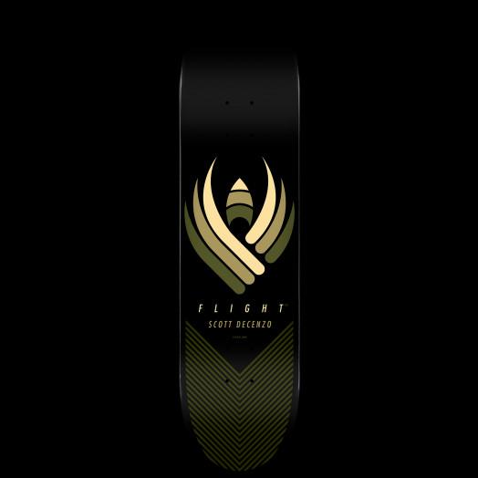 Powell Peralta Scott Decenzo Flight Skateboard Deck - Shape 248 - 8.25 x 31.95