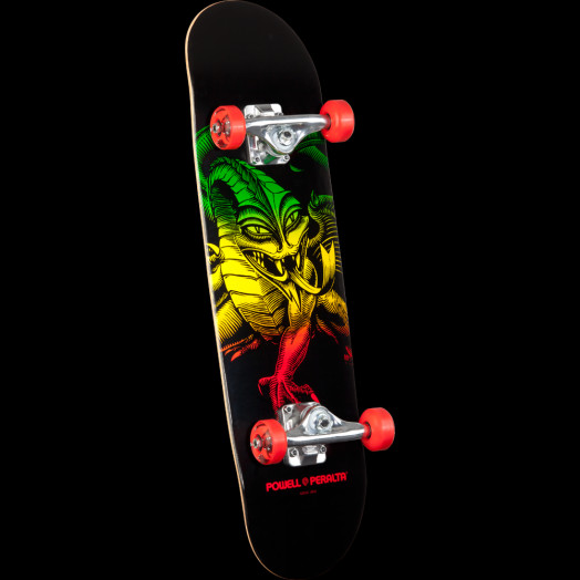 Powell Peralta Cab Dragon Complete Skateboard Red - 7.5 x 28.65