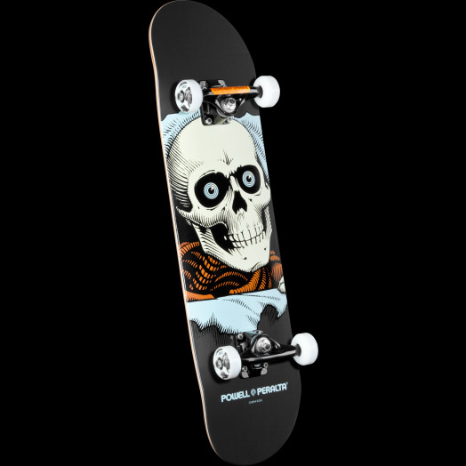 Powell Peralta Ripper Complete Skateboard Gray - 8 x 32.125