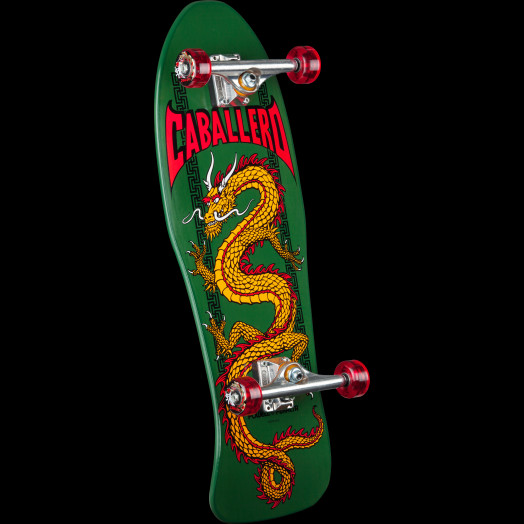 Powell Peralta Cab Chinese Dragon Complete Assembly Green - 10 x 30