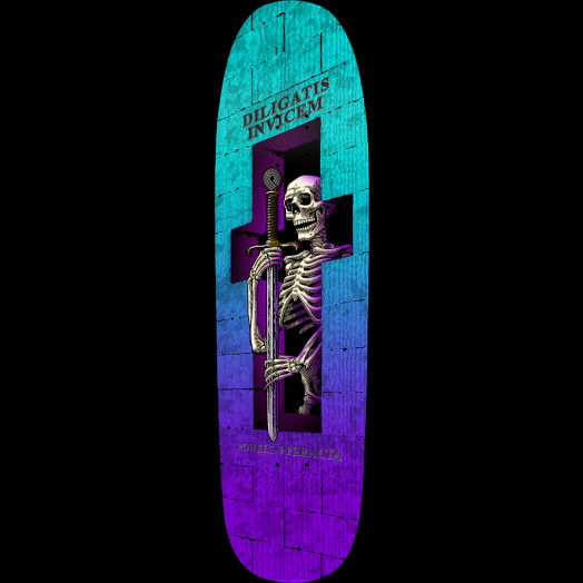 Powell Peralta Funshape Diligatis 2 Skateboard Deck - 8.7 x 31.72