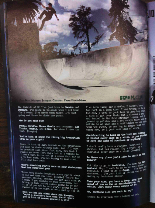 brad fs blunt interview