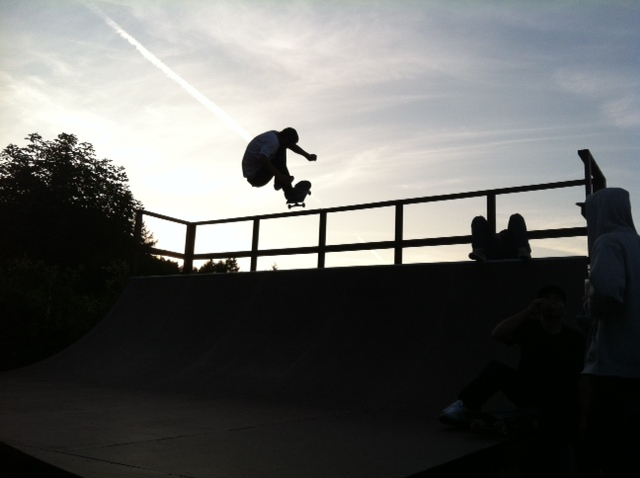 hawkins kickflip fakie