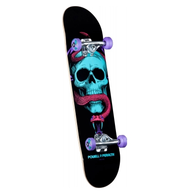 BL Skull & Snake Purple