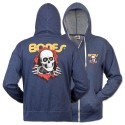 Ripper Zip Hoody, Blue