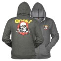 Ripper Zip Hoody, Gray