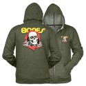 Ripper Zip Hoody, Green
