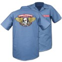 Winged Ripper Work Shirt, Blue