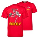 Skate Skeleton, Red