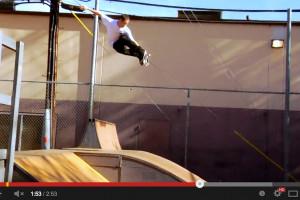 Brad McClain at Skatelab