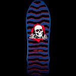 Powell Peralta Gee Gah Ripper Skateboard Deck Blue - 9.75 x 30
