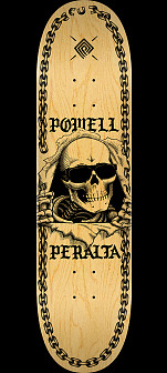 Powell Peralta Ripper Chainz Skateboard Deck Natural - 9.05 x 32.95