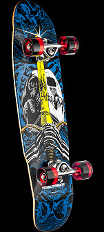 Powell Peralta Mini Skull and Sword Assembly 8 x 30