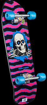 Powell Peralta Ripper Pink Complete Skateboard Assembly - 10 x31.75