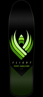 Powell Peralta Steve Caballero Flight Skateboard Deck - Shape 216 - 9 x 31.9