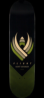 Powell Peralta Scott Decenzo Flight Skateboard Deck - Shape 248 - 8.25 x 31.95