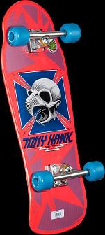 Bones Brigade Tony Hawk Series 6 Skateboard Complete Pink-10.14 x 30.28