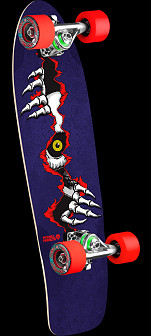 Powell Peralta Ripper Eye Cruiser 275 Skateboard Assembly - 8.62 x 27.88