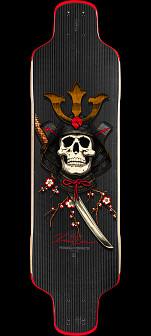Powell Peralta Kevin Reimer Carbon Samurai Skateboard Deck -10 x 36.75