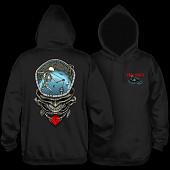 Powell Peralta Pro Mighty Pool Hooded Sweatshirt Black