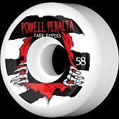 Powell Peralta Park Ripper 58mm PF Wheels 4pk